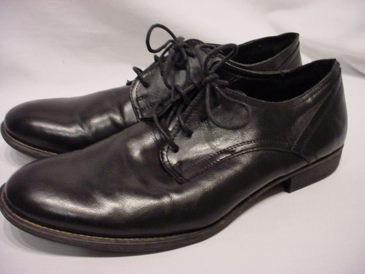 MENS GUESS BLACK LEATHER DRESS OXFORDS MGNOLO SZ 10.5 M STYLE MGNOLO OXFORDS 97c2e1