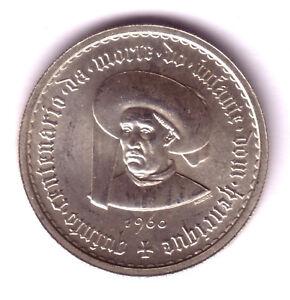 Portugal 10 Escudos Plata 1960 Principe Enrique El Navegante S/c 4fr0jyc0-07234849-907898401