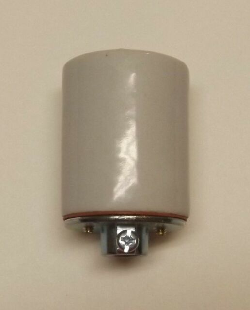 KEYLESS PORCELAIN LAMP SOCKET WITH GROUND SCREW LAMP PART NEW 48303JB