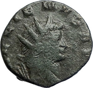 GALLIENUS-267AD-Rome-Authentic-Genuine-Ancient-Roman-Coin-Fides-Trust-i74235