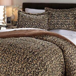 Concierge Collection Long Faux Fur Comforter Set Pick A