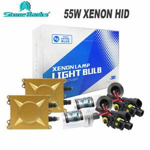 55W-HID-Xenon-Conversion-Kit-H1-H3-H7-H11-9005-9006-Headlights-Bulbs-Ballasts-UK