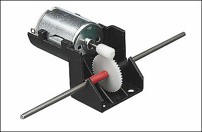 motor axle worm drive dual output low voltage battery