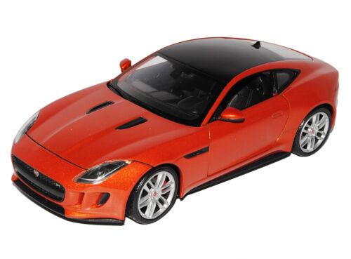 Jaguar F-Type Coupe Orange Ab 2013 1//24 Welly Modell Auto mit oder ohne indivi..