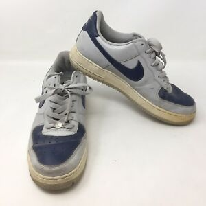 low priced 16ca1 dcf9e Image is loading Nike-Air-Force-1-Blue-Gray-306353-042-