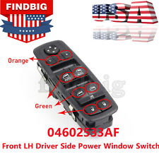07-12 Dodge Jeep Front LH Driver Side Master Power Window Mirrow Switch OEM NEW
