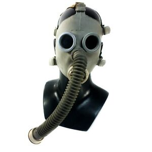 Details about Soviet russian ussr Gas Mask PDF-2D mask hose chemical  nuclear protection NEW