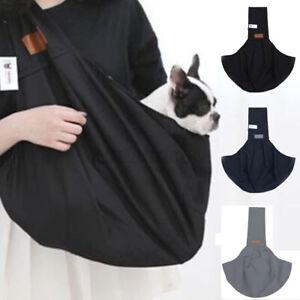 Haustier-Hund-Katze-Atmungsaktiv-Traeger-Schulter-Tasche-Sling-Gepolstert-Band