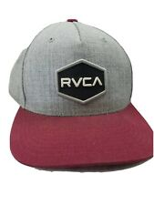 NWOT RRP $39.99 RVCA Distorted Tawny Strap Back Peaked Cap One Size