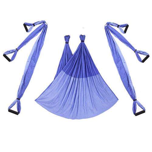 Details about  /FULL SET Yoga Swing Hammock Trapeze Aerial Inversion Anti Gravity Yoga Sling USA