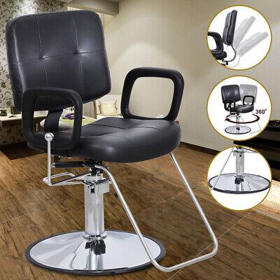Hydraulic Barber Chair Styling Work Station Beauty Shampoo Salon Spa Equipment 610877126866 Ebay