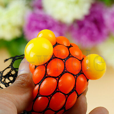 Anti Stress Reliever Ball Mood Squeeze Relief Toy Hand Wrist Exercise Toy TW