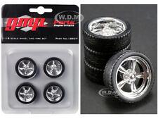 Auto World Modern 5 Spoke Wheel Pack GOOD YEAR EAGLE 1//18 AWPP003