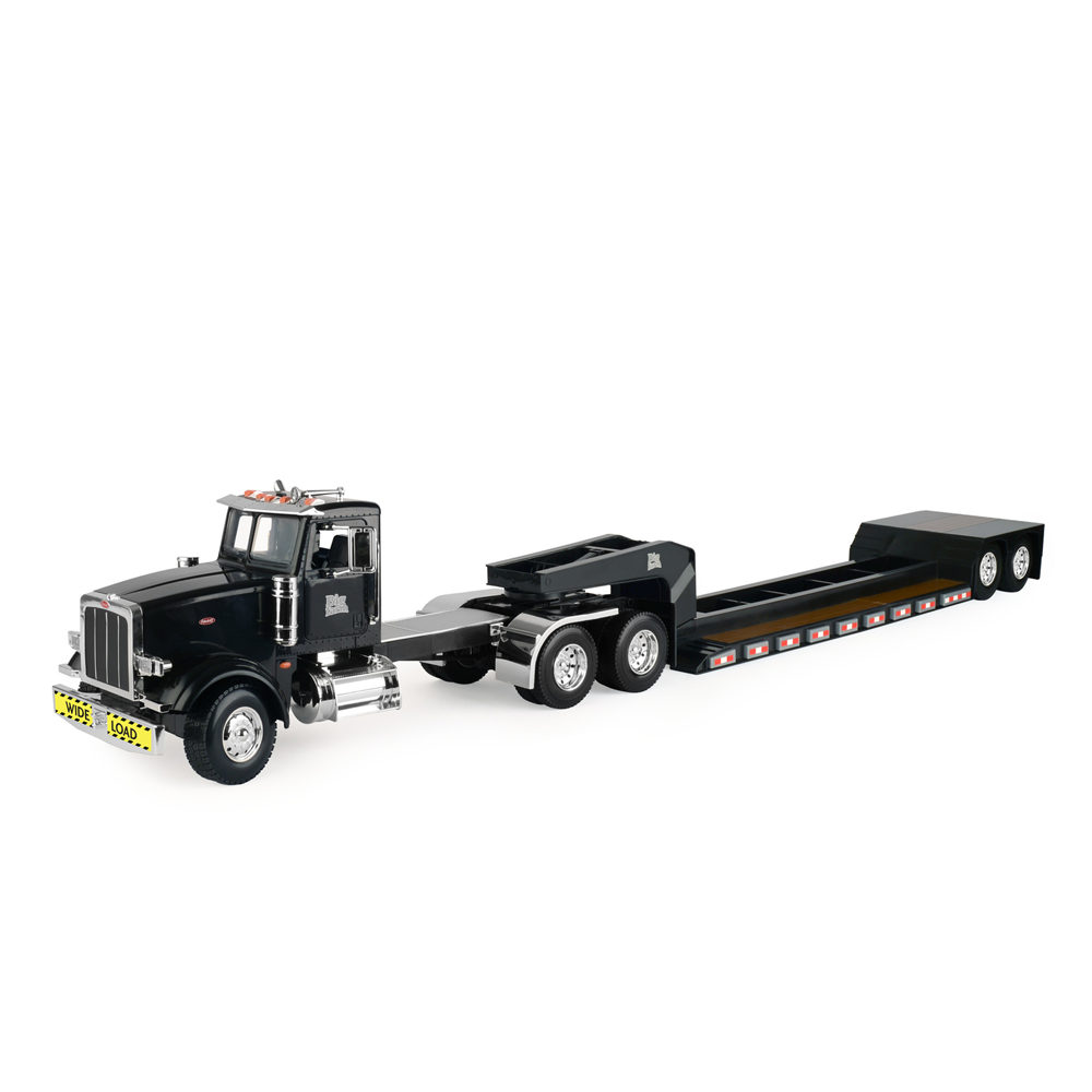 ERTL échelle 1 16 Big Farm Model 367 PETERBILT SEMI avec coiffeuse Large Charge Remorque