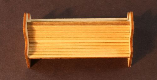 1 per pkg Berkshire Valley Models O//On3//On30 - #663 1//48 Double Bench