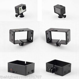 1 Genuine BacPac Frame mount GoPro Hero 3,3+Plus, 4 for LCD or extended battery