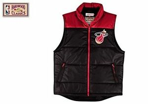 MIAMI HEAT Sz XXL Mitchell & Ness Winning Team Vest