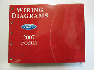 2007 Ford FOCUS Electrical Wiring Diagrams Service Shop ...