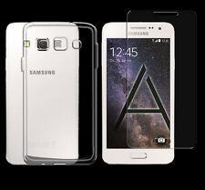 Samsung Galaxy A5 2015 TPU Silikon Schutz Hülle Cover Bumper + PANZER GLAS Folie
