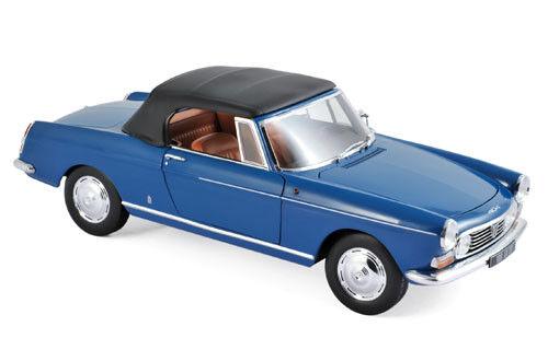 Norev Peugeot 404 Cabriolet 1967 1 18 Mendoza bleu