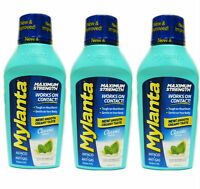 3 Pack Mylanta Max Strength Antacid Anti Gas Heartburn Classic 12oz 819903010289