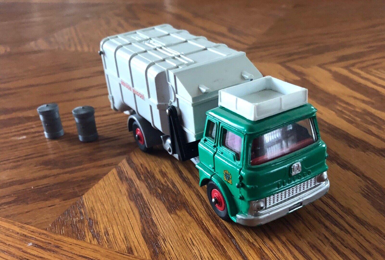 Vintage 1964 Dinky Toys (England)  978 REFUSE WAGON (Déchets déchets Trash) camion