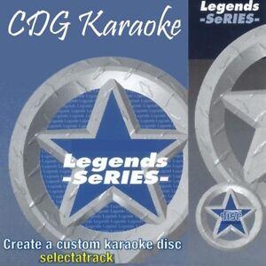 Musical Instruments & Gear Mellencamp/cocker Modern Design Smart Legends Karaoke Cdg Disc Leg054