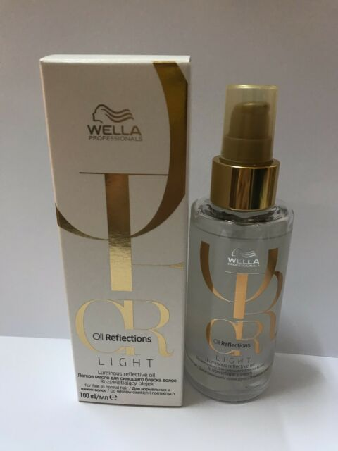 WELLA OIL REFLECTIONS LIGHT LUMINOUS REFLECTIVE OIL 100ML
