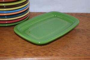 SHAMROCK-Fiesta-Extra-Large-Butter-Dish-TRAY-ONLY-Great-side-plate-tray