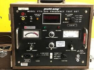 Multi-Amp-FTS-300-Frequency-Test-Set