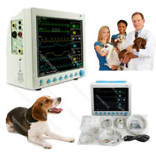 Ce Fda Veterinary Icu Vital Signs Patient Monitor 6 Parameters Cms8000 Vet