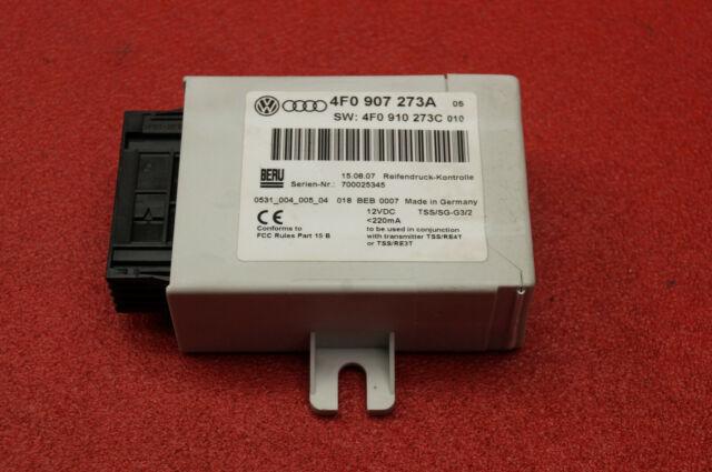 Audi Q7 4L A6 4F C6 Presión Control 4F0907273A 4F0910273C Unidad de Control / K2