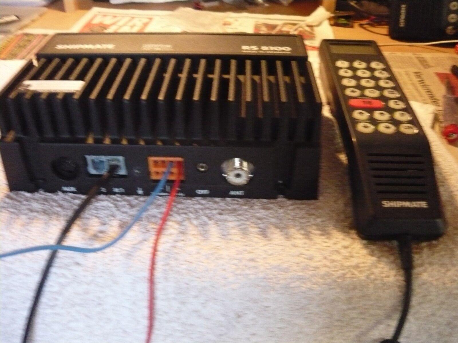 Shipmate RS 8100, Funkgerät VHF, Funkgerät 8100, 8072d6