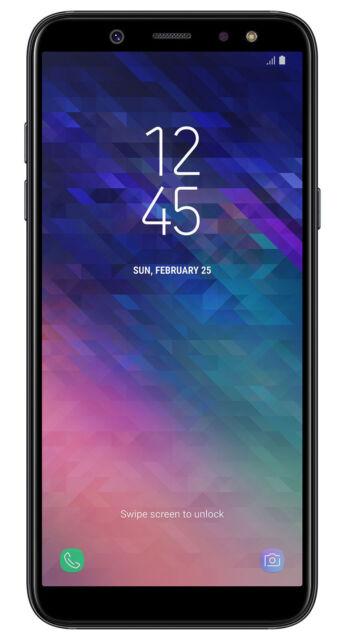 Samsung Galaxy A6 32gb Black Unlocked For Sale Online Ebay