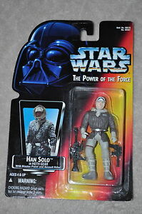 STAR-WARS-POWER-OF-THE-FORCE-HAN-SOLO-IN-HOTH-GEAR-W-PISTOL-amp-RIFLE-MOSC