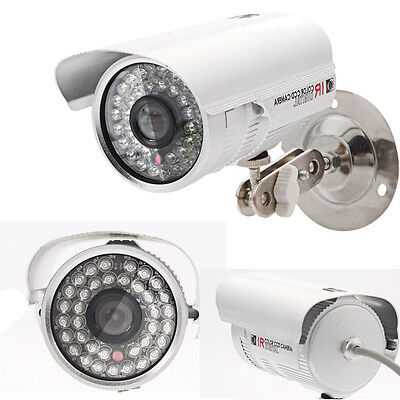 1200TVL HD CCTV Surveillance Security Camera Waterproof Outdoor IR Night Vision