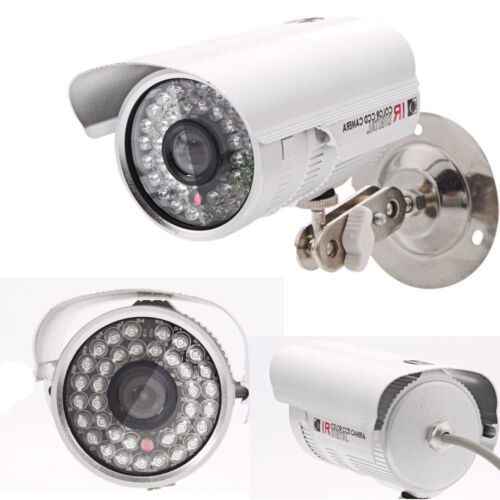 Lot4 1200TVL HD CCTV Surveillance Bullet Camera Waterproof Outdoor IR Day Night