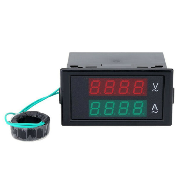 AC digital ammeter voltmeter (dual digital liquid crystal panel amplifier / C8U8