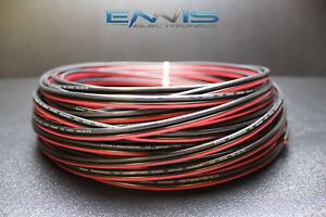 12-GAUGE-100FT-RED-BLACK-ZIP-WIRE-AWG-CABLE-POWER-GROUND-STRANDED-COPPER-CLAD-EE