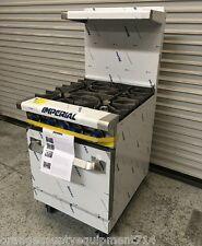 New 24 Gas Range 4 Open Burner Standard Oven Imperial Ir 4 4580 Commercial Nsf