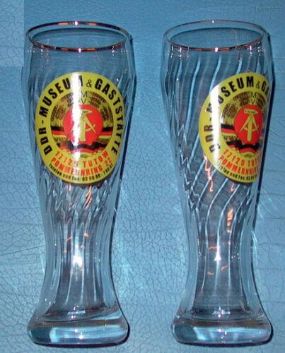 vom DDR-Museum-Tutow Weizenbierglas 0,5 Ltr