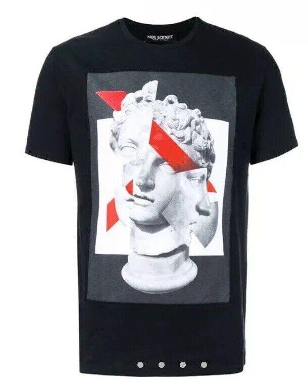 Neil Barrett T Shirt David Michelangelo Size M BNWOT