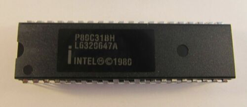 P80c31bh Intel dip40 CHMOS Single-Chip 8-bit micro-a14//7269