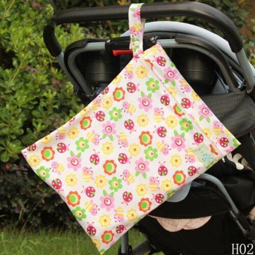 Babywindel wiederverwendbarer Reißverschluss wasserdichte Wickeltasche#7sy