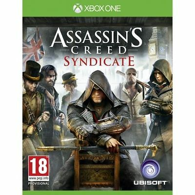 Assassins Creed Syndicate Xbox One UBISOFT Game PAL Free Postage