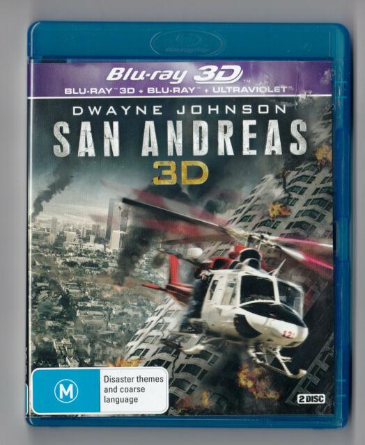 San Andreas 3D - Blu Ray + Blu Ray 3D - Dwayne Johnson