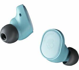 SKULLCANDY Sesh Evo True Wireless Bluetooth Earphones Bleached Blue - Currys