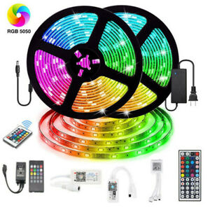 20M-RGB-LED-Smart-Home-WIFI-Strip-Light-App-Control-Waterproof-Lamp-For-Alexa
