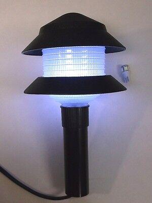 6 BBT Super Bright 12 volt Cool White LED Light Bulbs