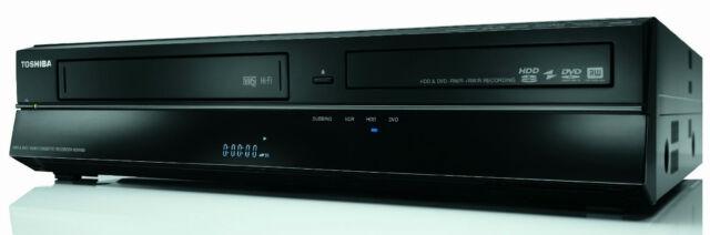 Toshiba RD-XV59DTKB Noir DVD Enregistreur, VHS Enregistreur & 250gb HDD - Tnt
